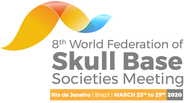 RIO DE JANERIO ,25-29/3/2020,8th World Federation of Skull Base