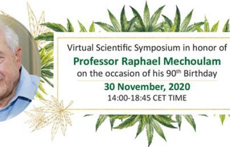 SAVE THE DATE – Virtual Scientific Symposium in honor of Prof Mechoulam's 90th Birthday